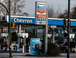 A Chevron gas station in Vancouver, B.C. (Carmine Marinelli/Vancouver 24hours)