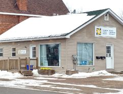 Tina Peplinskie/Daily Observer The Renfrew County community office of the Canadian Cancer Society has a new location at 467 Pembroke St. West, at the corner of Munro Street. Members of the community are invited to check out the new space during an open house Feb. 24 from 9 a.m. to 5 p.m.