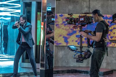 Still from JOHN WICK: CHAPTER 2, an Entertainment One release