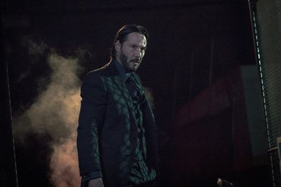 Keanu Reeves stars as 'John Wick' in JOHN WICK: CHAPTER 2, an Entertainment One release. Photo credit: Niko Tavernise
