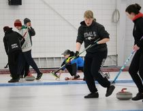 LP hosted a curling practice for High School teams out of Arborfield, Bjorkdale, and Carrot River