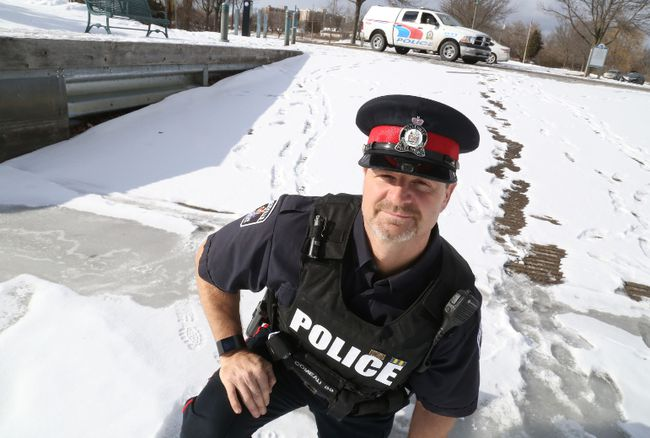 Cops staging ice fishing derby for kids the belleville for Ice fishing derby