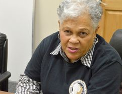 Dorothy Wright-Wallace, of the Chatham Kent Black Historical Society, has been named volunteer of the month for February. (Louis Pin/Postmedia Network)