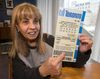 Toronto city councillor Frances Nunziata holds a mockup Toronto lottery ticket in her office  on Thursday, Feb. 2, 2017. Nunziata thinks the province should allow Toronto to run its own lottery. (CRAIG ROBERTSON/TORONTO SUN)
