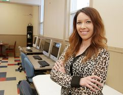 Jenna Whitcher, co-owner of the Adult Health and Wellness Centre in Gatchell. Gino Donato/The Sudbury Star