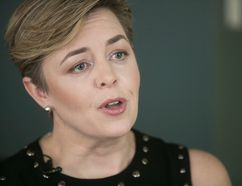 Conservative Party leadership candidate Kellie Leitch in Montreal on Jan. 12, 2017, during interview with Richard Warnica of Postmedia Network. (Pierre Obendrauf / MONTREAL GAZETTE)