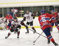 Strathroy Rockets v. Chatham Maroons on Saturday, Feb. 4. Photo courtesy of Colleen Wiendels Photography.