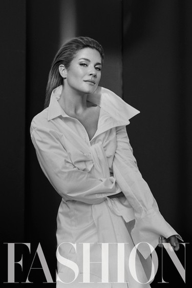 Sophie Grégoire Trudeau, poses for FASHION Magazine in exclusive interview and feature. (FASHION Magazine Photo)