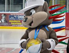 Pachi is the mascot for the Ontario ParaSport Winter Games, which get underway on Friday night with opening ceremonies. (Brian Thompson/Expositor file photo)