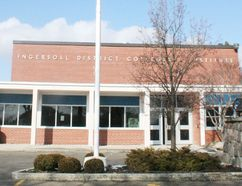 Ingersoll District Collegiate Institute. INGERSOLL TIMES File Photo