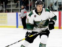Former St. Thomas Stars right-winger Brady Pataki of Wallaceburg. (MARK MALONE/The Daily News)