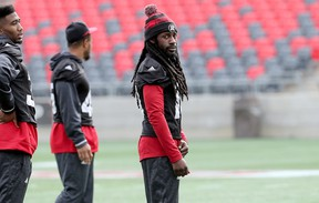 All-star defensive back Abdul Kanneh is among the19 unsigned players from the 2016 Grey Cup champion Ottawa Redblacks. (Julie Oliver/Postmedia Network)
