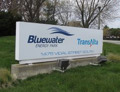 A proposed $10.3-million pilot plant to develop technology for manufacturing silicon materials for the solar and semiconductor industries has received an investment from Sarnia-based Bioindustrial Innovation Canada. Ubiquity Solar is working to set up the pilot plant at TransAlta's Bluewater Energy Park in Sarnia. (File photo/Sarnia Observer/Postmedia Network)