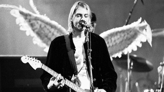 Some of late Nirvana frontman Kurt Cobain's guitars are being auctioned off. GETTY