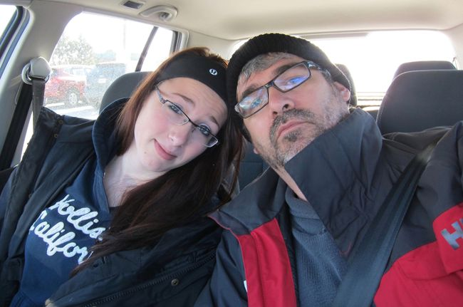 Glen Canning and his daughter Rehtaeh Anne Parsons. The Nova Scotia teenager was sexually assaulted by four males at a home near Halifax in November 2011. Canning will be speaking at a conference in London (File photo).