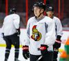 Curtis Lazar's agent, J.P. Barry, could ask the Senators to trade the young forward when they meet on Saturday. (Errol Mcghihon/Postmedia network)