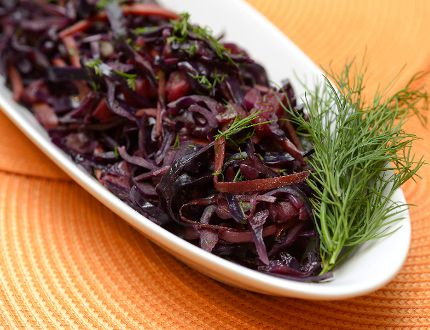 Braised Red Cabbage with Carrots and Dill (MORRIS LAMONT, The London Free Press)