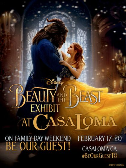 Beauty and the Beast at Casa Loma