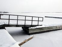 Gananoque town council has decided, for safety reasons, to remove the dock behind the Thousand Islands Playhouse in Gananoque. (Steph Crosier/The Whig-Standard)