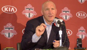 Toronto FC president Bill Manning says, 'For a team to come into Toronto and try and compete with TFC, have fun with that'. (Neil Davidson/CP)