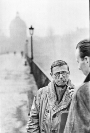 French philosopher Jean-Paul Sartre, in a 1946 photo.