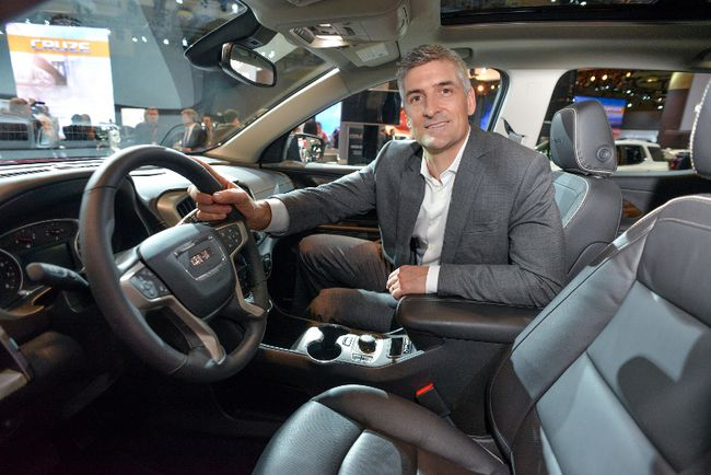 "Michael Stapleton, director of interior design for GMC, sees the future of car design as ""industrial sculpture."" (General Motors Canada)"