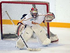 Wallaceburg's Emma Gorski plays for the Barrie Sharks in the Provincial Women's Hockey League. (Contributed Photo)