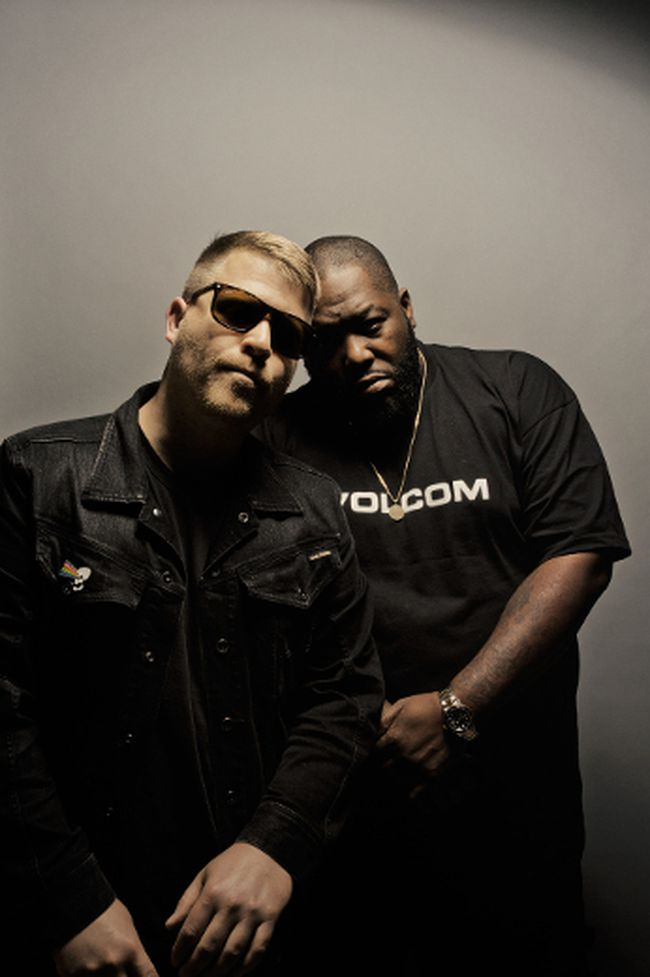 Rappers El-P and Killer Mike of Run The Jewels. (Handout)
