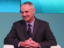 Major League Baseball commissioner  Rob Manfred