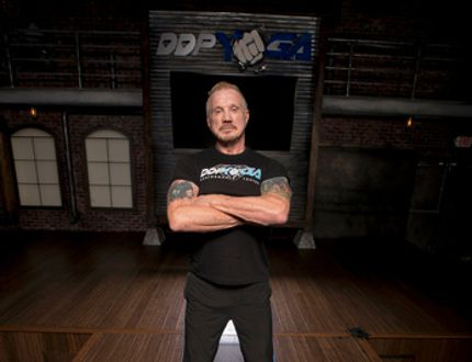 Diamond Dallas Page, who became a professional wrestler later in life and the creator of DDPYoga, is the latest inductee to the World Wrestling Hall of Fame. (Courtesy DDPYoga)
