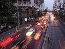 File photo of traffic in downtown Bangkok. (AFP PHOTO / Roberto SCHMIDTROBERTO SCHMIDT/AFP/Getty Images)
