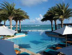 The Zemi Beach Resort opened to rave reviews on Anguilla last year. It's already become a haven for celebrities who want to get away from it all. (JIM BYERS PHOTO)