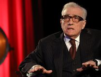 Martin Scorsese talks on stage as part of the 'In Conversation' series of events at BFI Southbank on February 22, 2017 in London. (Photo by Tim P. Whitby/Getty Images)