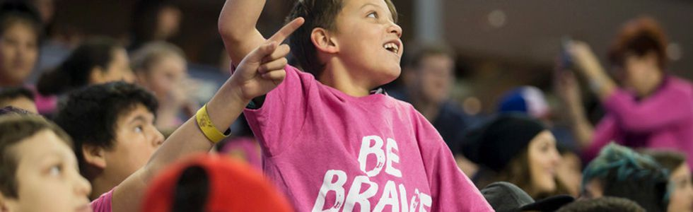 be brave pink shirt day