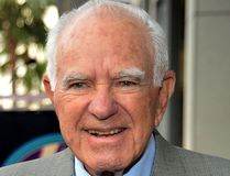 "Judge Joseph Wapner, of ""The People's Court"" fame, is seen in a Nov. 12, 2009 file photo. (Kristian Dowling/Getty Images)"
