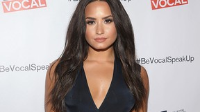 Demi Lovato arrives at the premiere of Beyond Silence on Feb. 22, 2017 in Los Angeles. (Jesse Grant/Getty Images for Be Vocal)