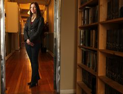 Kelsey Attard, of Freehand Books, is one of several local publishers supporting a proposal for funding increases to her industry. The number of active book publishers in Alberta has declined from 45 in the mid-1990s to 28 today. File photo.