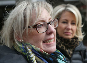 Susan Brownrigg and her sister-in-law Linda Brownrigg said her family had more than half a million dollars stolen from them by financial advisor Jacques Scribnock. (Tony Caldwell, Postmedia)