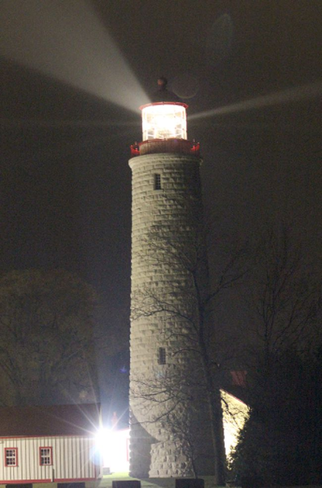 The lighthouse at Point Clark is one of the highlights of a video created by the Grade 8 class of MDHS. TROY PATTERSON/POSTMEDIA NETWORK
