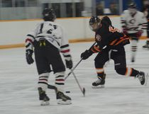 The Pincher Creek Huskies are out of the playoffs after their loss against the Medicine Hat Hounds, however, now they have three weeks to prepare for provincials. | Caitlin Clow photo/Pincher Creek Echo