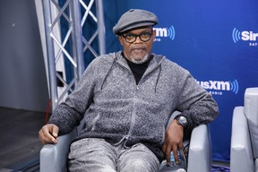 Actor Samuel L. Jackson speaks during SiriusXM's 'Town Hall' with the cast of 'Kong: Skull Island'; town hall to air on SiriusXM's Entertainment Weekly Radio on March 6, 2017 in New York City. (Photo by Cindy Ord/Getty Images for SiriusXM)
