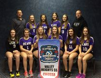 The Valley Heights Bears finished the round robin 2-2 at the OFSAA 'A' girls volleyball championships in Welland and are set to play in the consolation quarter-final late Tuesday afternoon. Contributed Photo