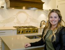Brianne Hughes is an award-winning designer with Casey's Creative Kitchens. (Mike Hensen/The London Free Press)