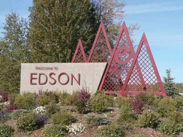 county and town work together edson leader