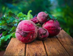 Beets are the central ingredient in Beets Margaret Atwood, a dish named for the famous Canadian author by writer Susan Musgrave, who runs the Copper Beech Guest House in Haida Gwaii. B.C. (Supplied photo)