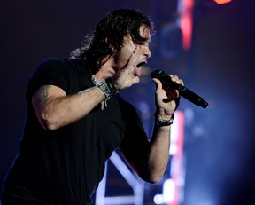 Singer Scott Stapp of Creed performs at the Wiltern Theatre on May 15, 2012 in Los Angeles, California. (Photo by Kevin Winter/Getty Images)