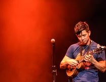 Hawaii native Jake Shimabukuro is performing to a sold-out Festival Place crowd on March 10. Photo Supplied