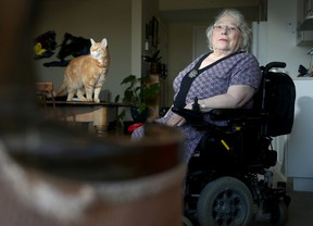 Suzanne Schecter Cote is angry that she can't book Para Transpo in advance and online.