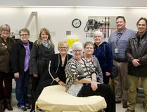 The Windy Slopes Health Foundation unveiled their enhancements to the two labour and delivery rooms in the Pincher Creek Health Centre on Tuesday evening. | Caitlin Clow photo/Pincher Creek Echo
