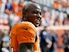 This Oct. 30, 2016 photo shows Denver Broncos outside linebacker DeMarcus Ware smiling prior to an NFL football game against the San Diego Chargers in Denver. (AP Photo/Jack Dempsey, file)